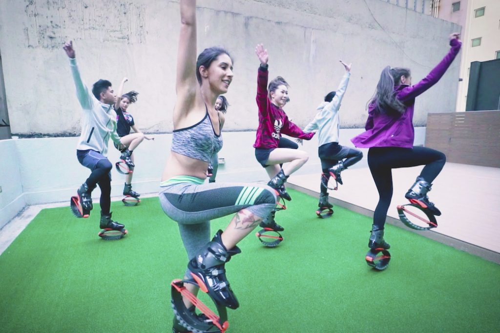 Kangoo Jumps at XP Fitness, Central, Hong Kong