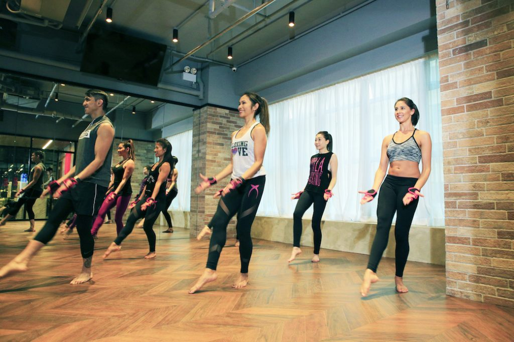 Piloxing at XP Fitness in Central, Hong Kong