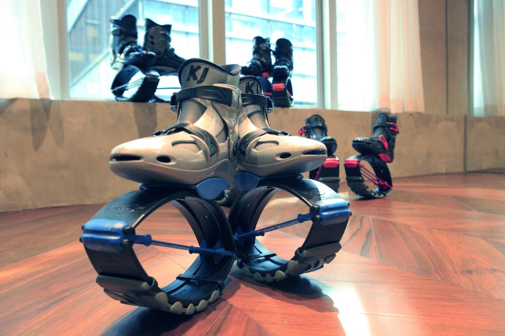 Kangoo Equipment at XP Fitness, Central Hong Kong