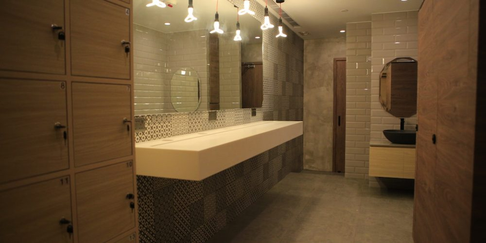 XP Fitness Changing & Shower Room