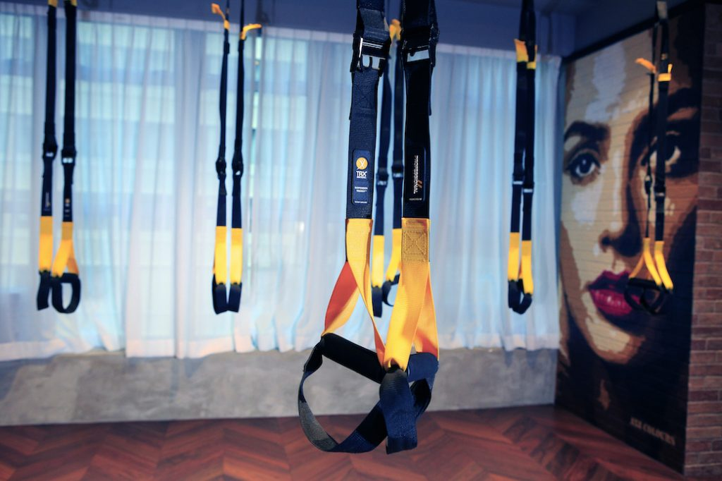 TRX Studio at XP Fitness in Central, Hong Kong